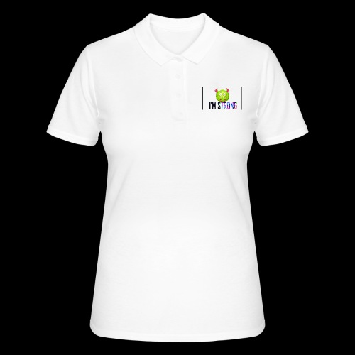 IM STRONG - Camiseta polo mujer