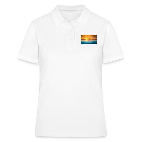 sunset - Camiseta polo mujer