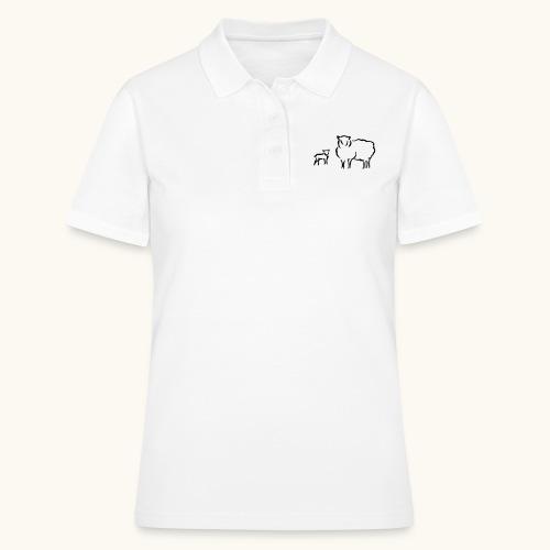 Schafzucht Lamm lustig Geschenkidee Familie Schafe - Polo Femme