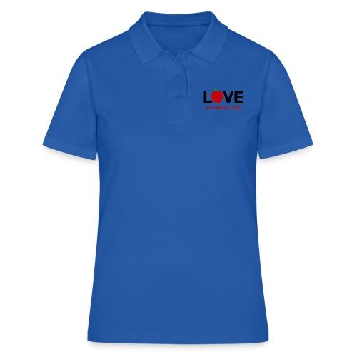Falling in Love - Black - Women's Polo Shirt