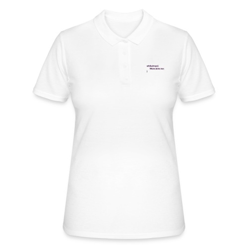 Mom love me - Women's Polo Shirt