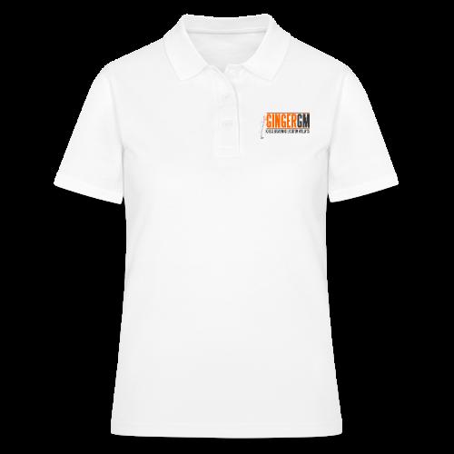 Ginger GM Logo - Women's Polo Shirt
