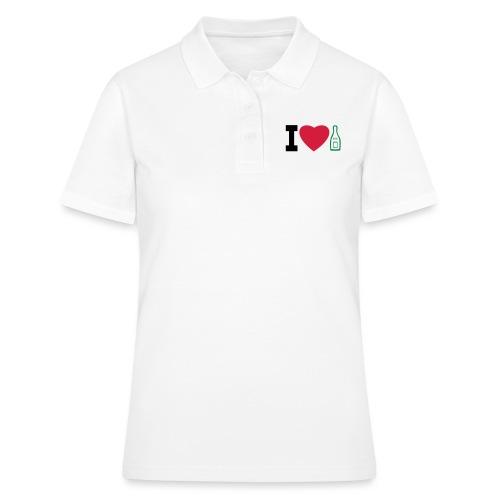 i love champagne - Women's Polo Shirt