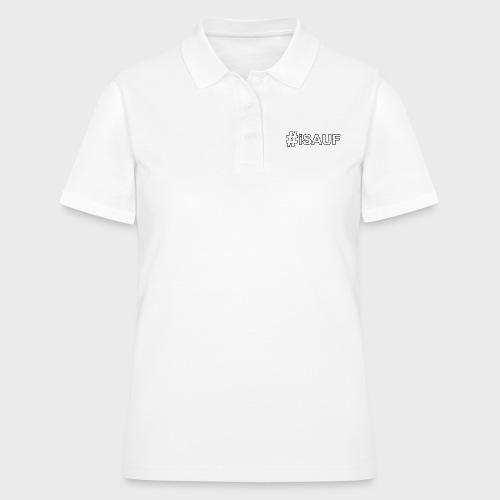 Hashtag iSauf - Frauen Polo Shirt