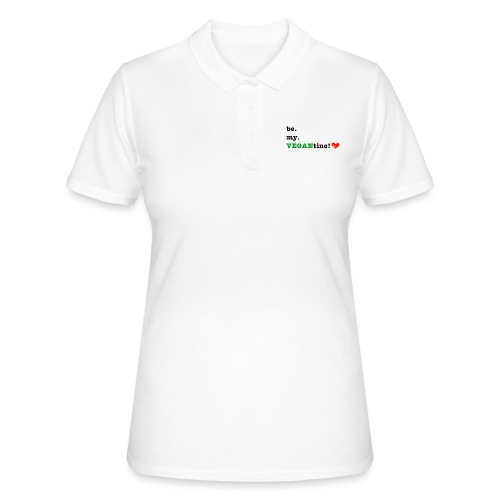 VEGANtine Green - Women's Polo Shirt