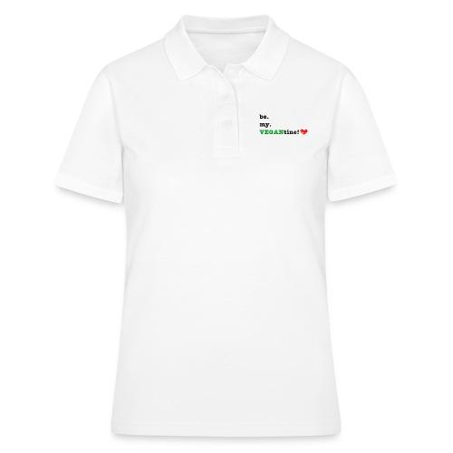 VEGANtine Green - Women's Polo Shirt