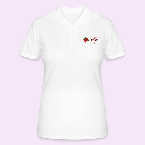 Baby aardbei Dotje - cute - Women's Polo Shirt