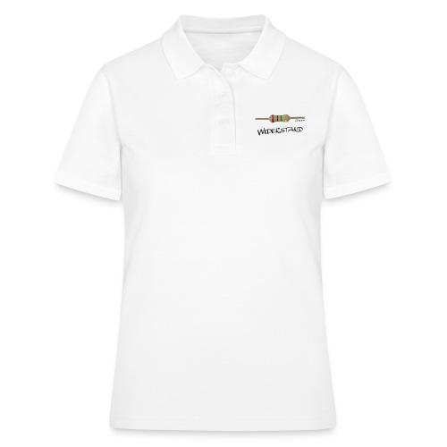 Widerstand - Frauen Polo Shirt