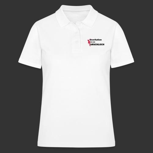 Gravitation Arschloch - Frauen Polo Shirt