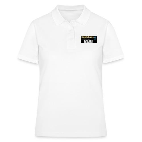 PARIS png - Women's Polo Shirt