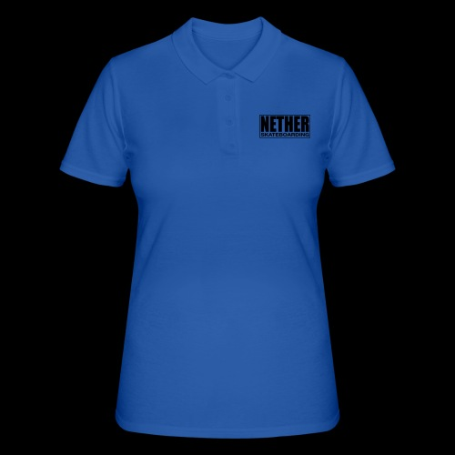 Nether Skateboarding T-shirt White - Women's Polo Shirt
