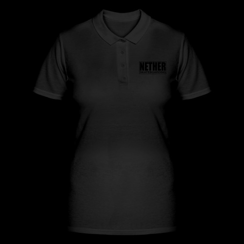 Nether Skateboarding T-shirt White - Women's Polo Shirt