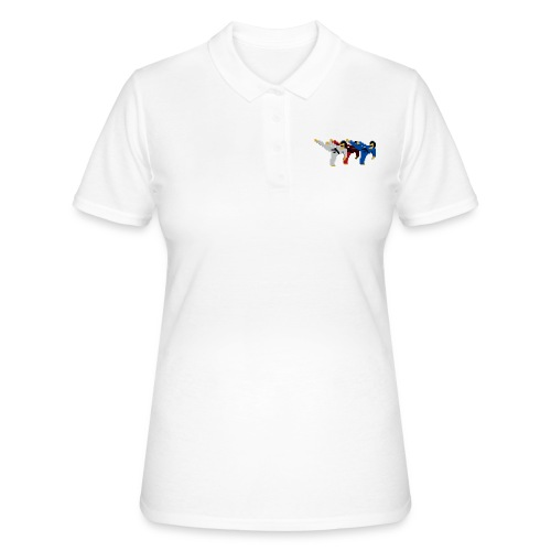 8 bit trip ninjas 2 - Women's Polo Shirt