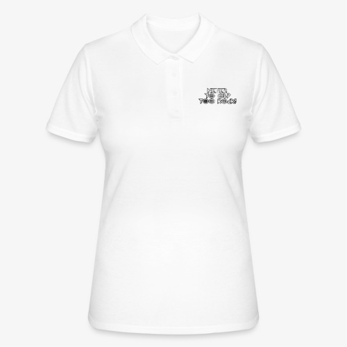 never to old too rock! - Women's Polo Shirt