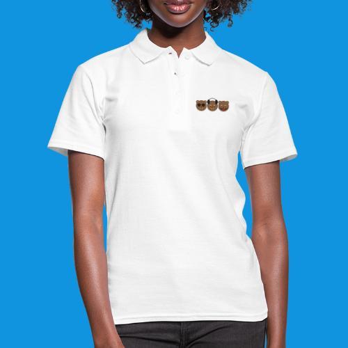 3 Wise Bears - Women's Polo Shirt
