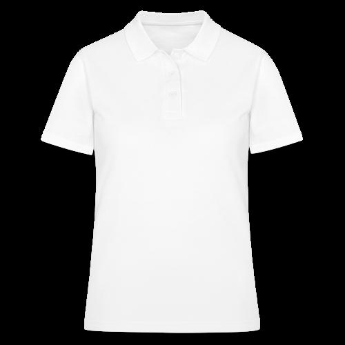 SkyHigh - Women's Hoodie - White Lettering - Women's Polo Shirt