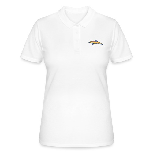 Colorful dolphin - Women's Polo Shirt