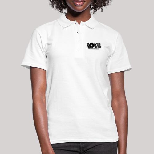 Logo PowerFlower Nero - Women's Polo Shirt