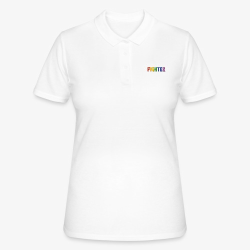 Fighter Pride (Rainbow) - Women's Polo Shirt