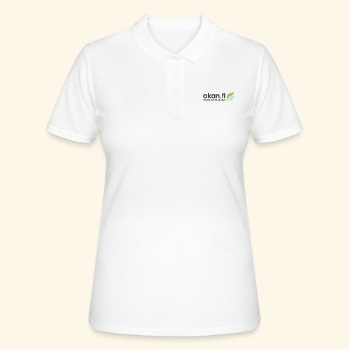 Akan Black - Women's Polo Shirt