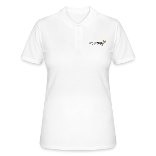 mummy familyshirt - Frauen Polo Shirt