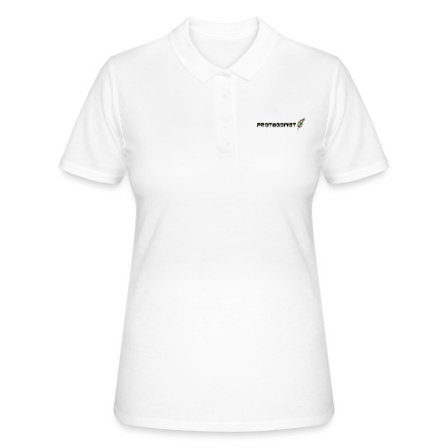protagonist feder black - Frauen Polo Shirt
