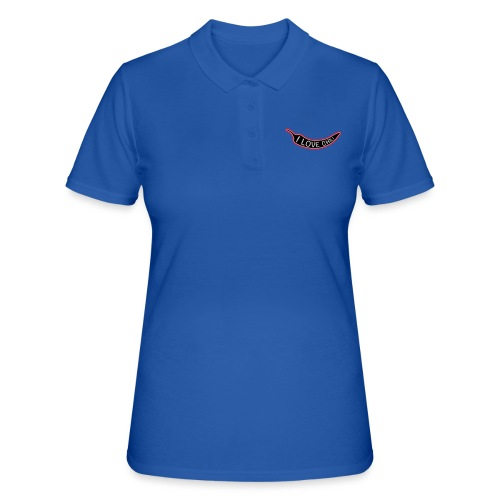 I love chili - Women's Polo Shirt