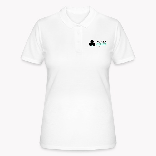 Poker Clock Logo - Frauen Polo Shirt