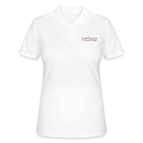 Expression typography - Women's Polo Shirt