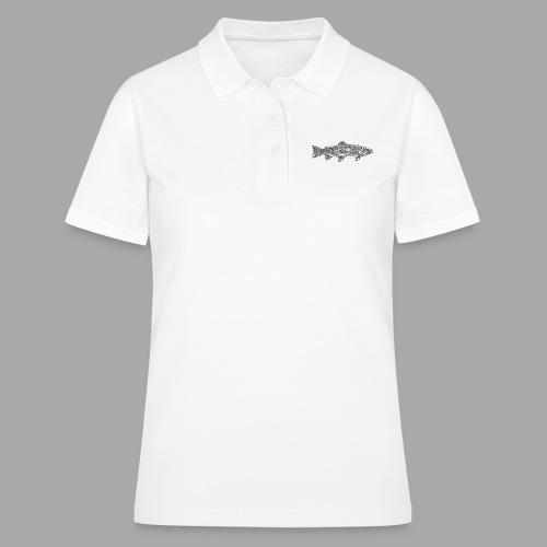 art trout.png - Women's Polo Shirt