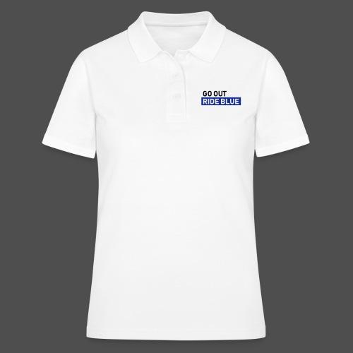jeździć niebieskim - Women's Polo Shirt