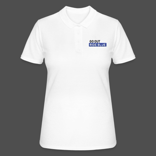 ride blue - Frauen Polo Shirt