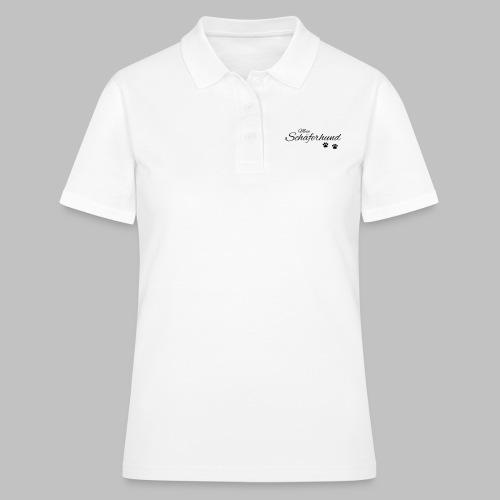 Mein Schäferhund - T-Shirt - Hoodie - Pullover - Frauen Polo Shirt