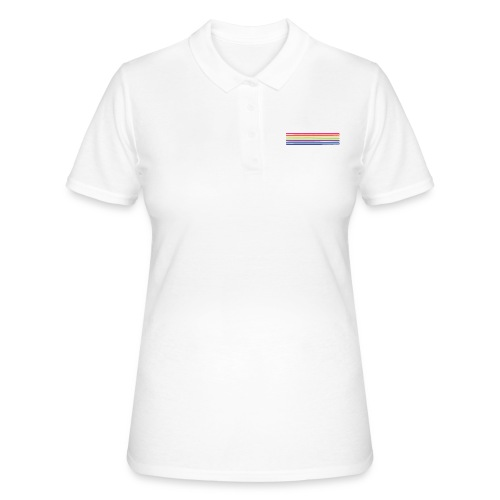 Colored lines - Women's Polo Shirt