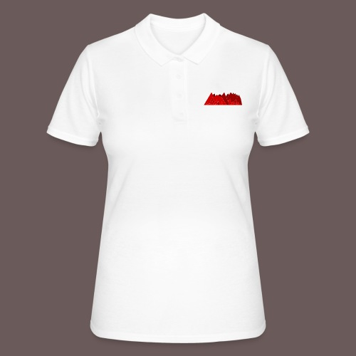 Simplistic Mountains - Women's Polo Shirt
