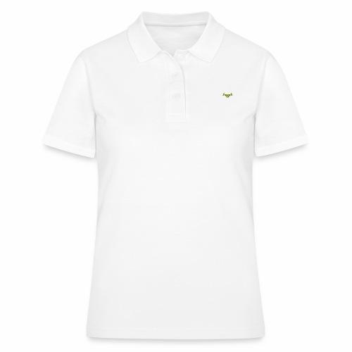 Handschlagqualität Text weiss - Frauen Polo Shirt