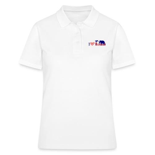I love Thailand - Women's Polo Shirt