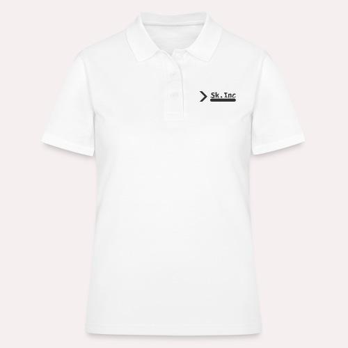 Skid-Inc Text - Women's Polo Shirt
