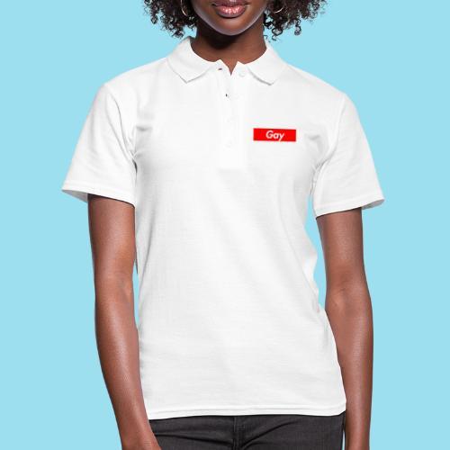 GAY Supmeme - Frauen Polo Shirt