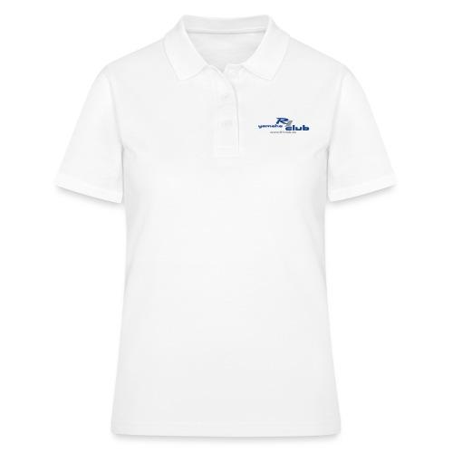 R1club Logo blau - Frauen Polo Shirt