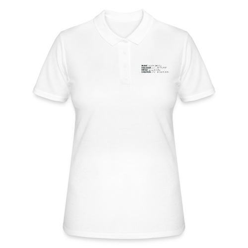 slogan png - Women's Polo Shirt