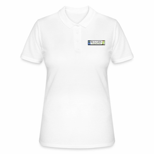 CO. LOUTH, IRELAND: licence plate tag style decal - Women's Polo Shirt