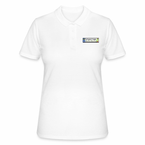 TYRONE, NORTHERN IRELAND licence plate tags decal - Women's Polo Shirt