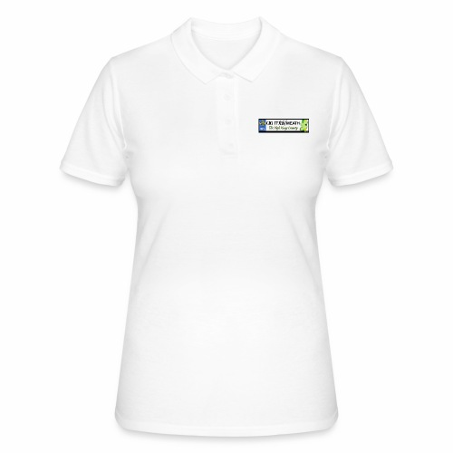 CO. MEATH, IRELAND: licence plate tag style decal - Women's Polo Shirt