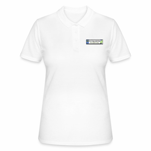WATERFORD, IRELAND: licence plate tag style decal - Women's Polo Shirt