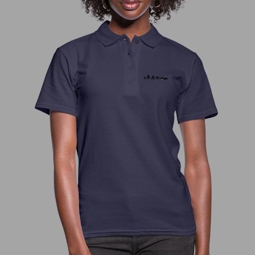 Bicycle evolution black - Women's Polo Shirt