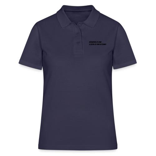 Tennis Love sweater women - Women's Polo Shirt