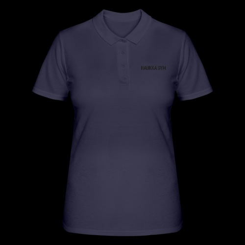 HAUKKA GYM text - Women's Polo Shirt