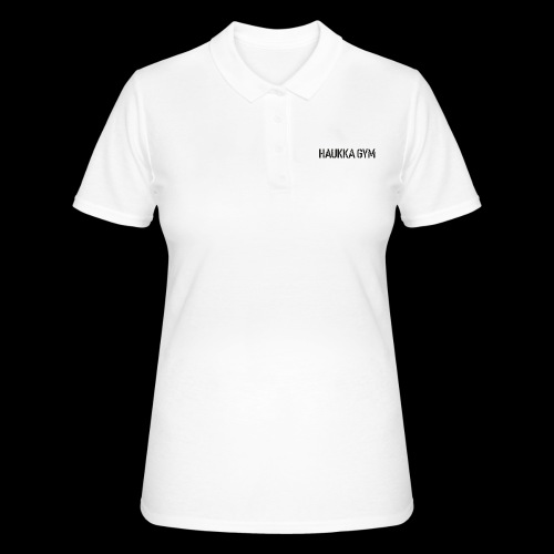 HAUKKA GYM roso text - Women's Polo Shirt