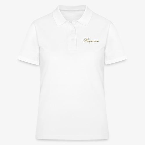 Merry Christmas Hannover - Frauen Polo Shirt